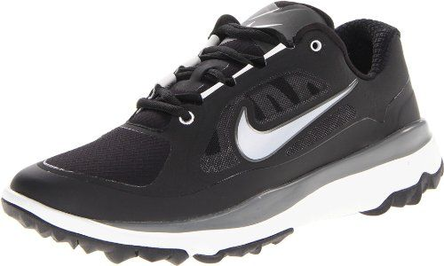 Mens Golf Shoes Idea   NIKE Golf Mens NIKE FI Impact W Golf Shoe BlackLight Base GreyMetallic Silver 95 2E US *** Read more  at the image link. Note:It is Affiliate Link to Amazon.