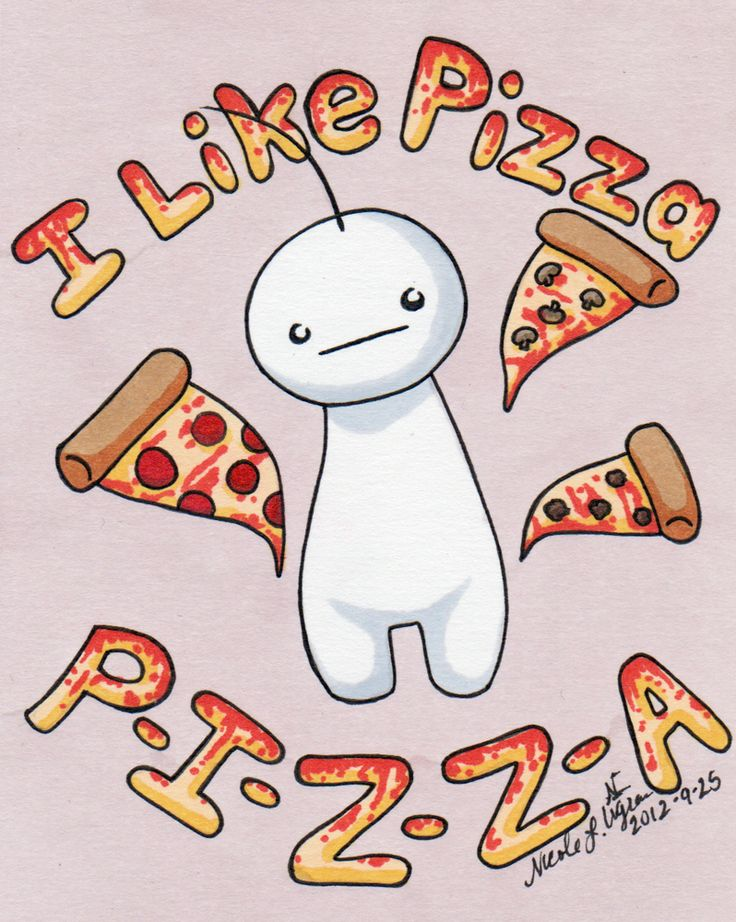 Gimme PIZZA! by ~CrystallineColey http://www.deviantart.com/art/Gimme-PIZZA-329252426