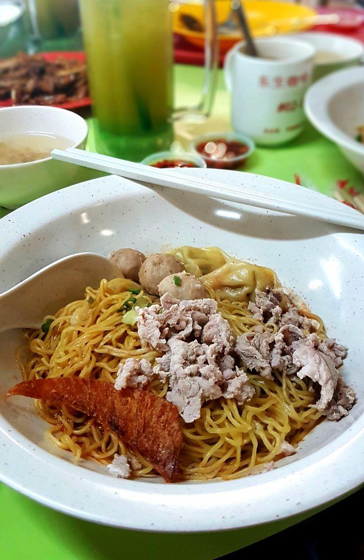 """Pork Noodle"", Tai Wah Pork Noodle, Singapore"