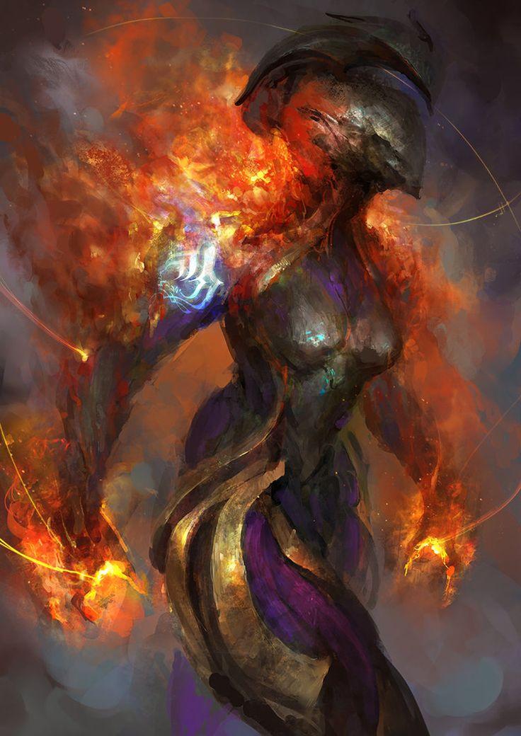 Warframe - Fiery temper by theDURRRRIAN on DeviantArt