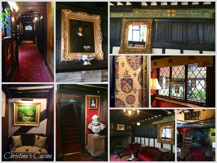 interior Mermaid Inn collage