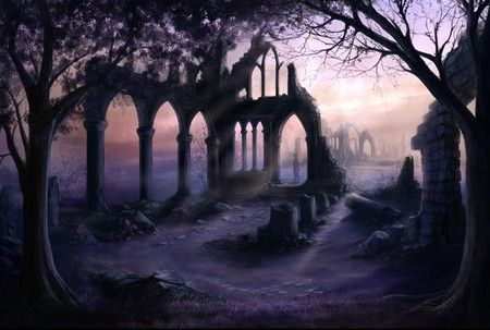 fantasy ruins - Google Search