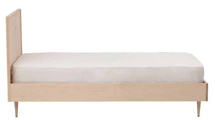 Midcentury Panel Bed