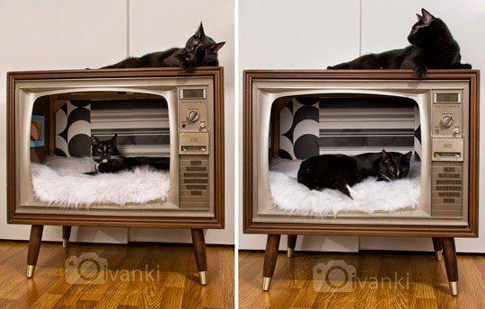 katzenkorb-selber-bauen-aus-alten-moebeln-tv-fernseher