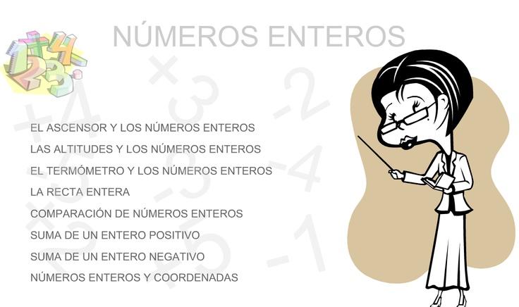 Los Números Naturales eran muy limitados para realizar algunas operaciones por que el resultado no era un Número Natural.    Por ejemplo, no podíamos realizar operaciones como: 3 - 4 ni 2 - 7  Entonces......  Aparecieron los Enteros...!!