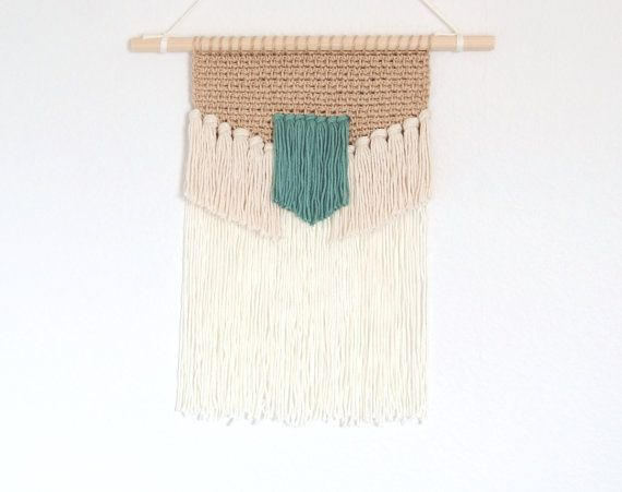 Textile woven hanging - Etsy