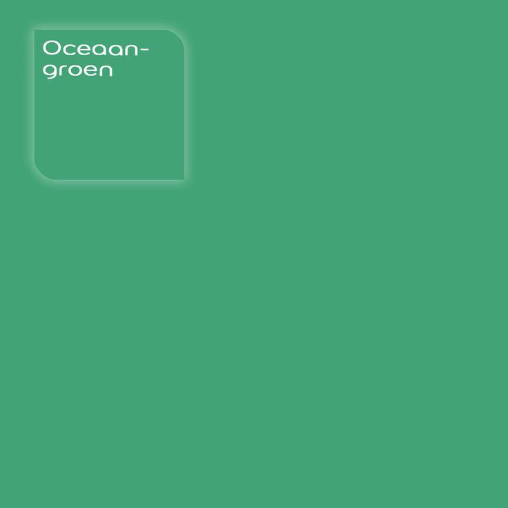 Flexa Strak op de Muur kleur: Oceaangroen. Klik op de foto om een Flexa Kleurstaal te bestellen.     #kleur #kleuradvies #interieur #kleurstaal #kleurtester #decoratie #color #colorsample #coloradvice #interior #decoration #groen #green #oceaan #ocean