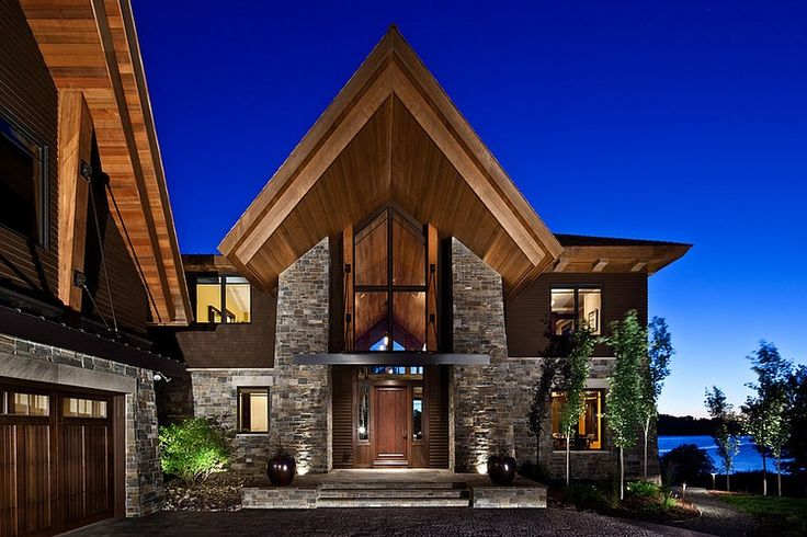 Recent clients of LEAP Architecture have selected a lot of wonderful images as inspirations for their new ADK camp - this is a great example of truly contemporary design.