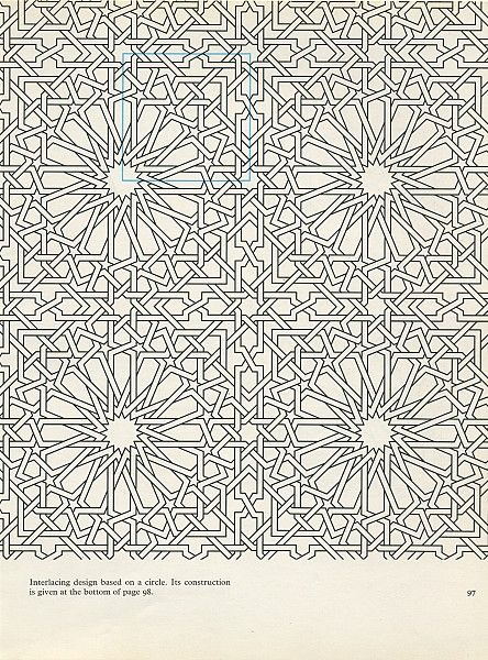 Pattern in Islamic Art - PIA 097