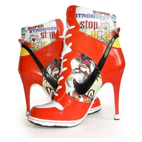 Zapatos NIKE para mujer taco alto