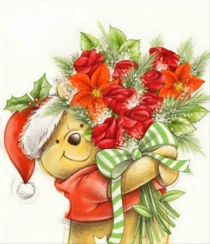 Disney Christmas Winnie the Pooh Bear                                                                                                                                                                                 More