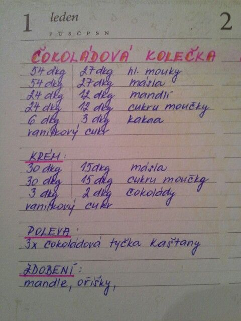 Čokoladová kolečka od Cmáží (***** vyzkouseno 2012, nepřekonatelné! :-) )