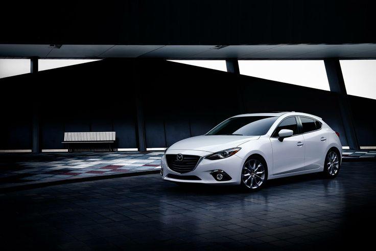 Classic white 2014 Mazda 3