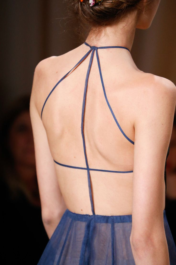 Valentino Spring 2015 Couture - Back Details