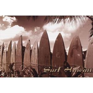 Surf Hawaii Poster Print by Jason Ellis (36 x 24) WALMART 11.40