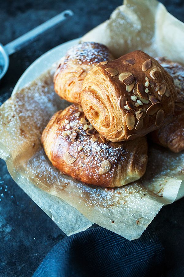 Beautiful pain au chocolat. Made from scratch with a quick homemade puff pastry, that actually doesn't take the whole day to make. We are extremely satisfied with the result. It is incredibly delicious, soft and airy at the same time.   jernejkitchen.com