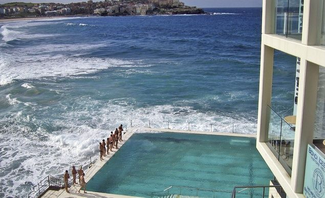 This public pool on Bondi Beach, Australia is truly amazing!