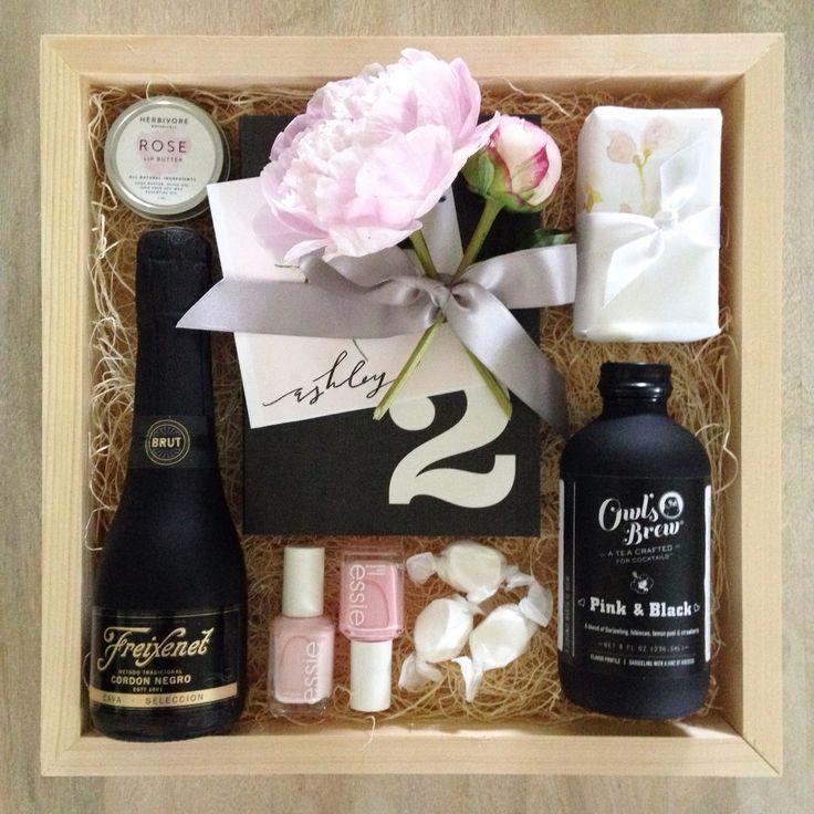 A custom Teak & Twine gift box to celebrate an engagement!   hello@teakandtwine.com