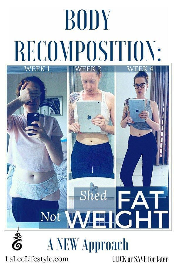 Weight loss body shape changes
