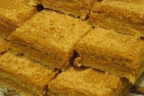 Медовые пирожные с апельсиновым кремом
