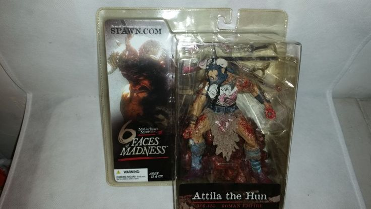 McFarlane's Monsters III 6 Faces of Madness Attila the Hun ~ 2004 Action Figure #McFarlanesSpawn