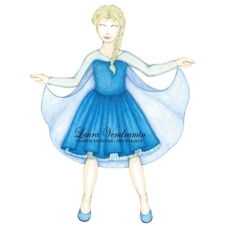 Princess Disney remake for children Elsa
