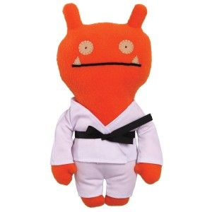 Ugly Dolls: Gund Uglydoll Uglyverse-Tae Kwon Wage 11″ Plush Studying the way of Tae Kwon helps him keep his focus, and helps him remember to respect those around him. Wage is a black belt in focus and respect. Since the inception of the first character, Wage, who David drew on a love letter to Sun-Min, UGLYDOLL has grown into an entire universe of characters, stories and products for all ages. http://awsomegadgetsandtoysforgirlsandboys.cUgly Dolls: Gund Uglydoll Uglyverse
