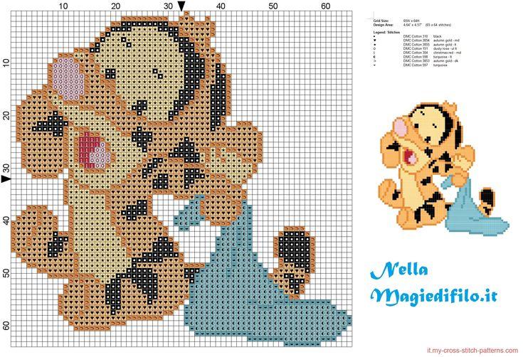 Baby tigro amico di Winnie the Pooh con copertina - 2092x1428 - 1332675