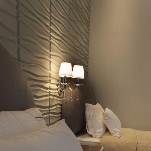 3D wall panels by WallArt - Flows Design