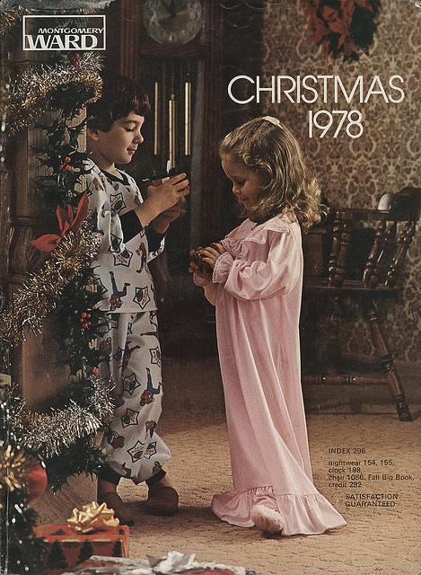 A Ghost of Christmas Past--the Montgomery Ward Christmas catalog.  I so remember this one!!!!