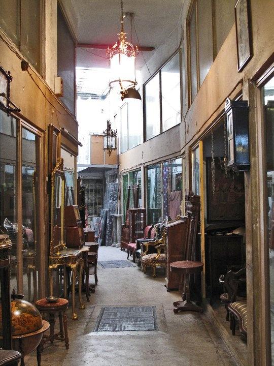 Antique Shop in Ermou Str., Monastiraki, Athens