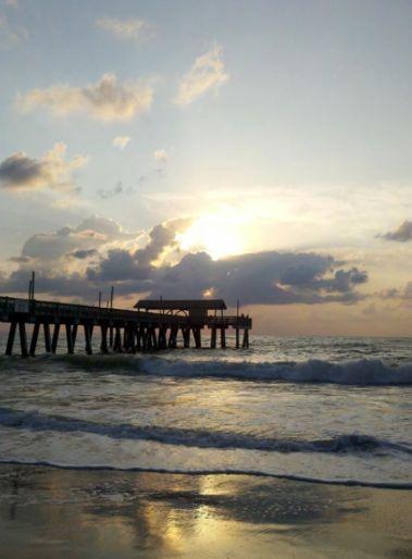 Statement Clutch - Kiawah Sunrise by VIDA VIDA 5y18kmMC
