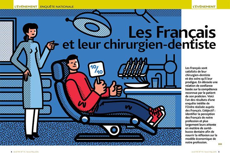 Dume - Tiphaine-illustration #dentiste #illustration #editorial