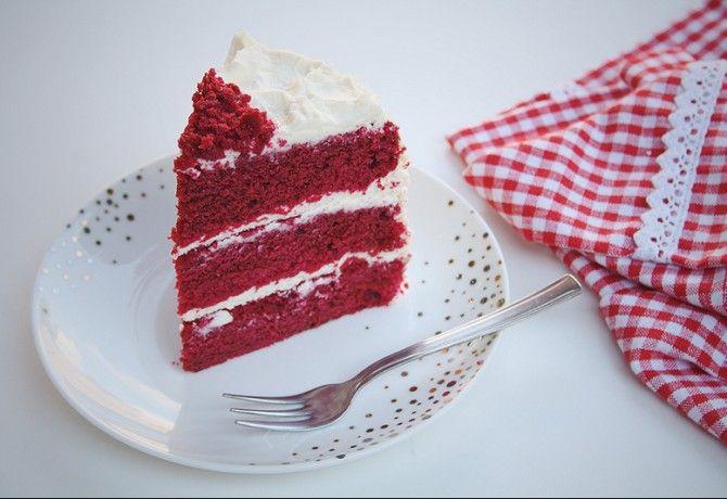 Red velvet- Vörös bársony torta