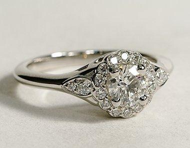 http://rubies.work/0572-emerald-rings/ 0158-ruby-rings/ Flora Vida Halo Diamond Engagement Ring - Blue Nile