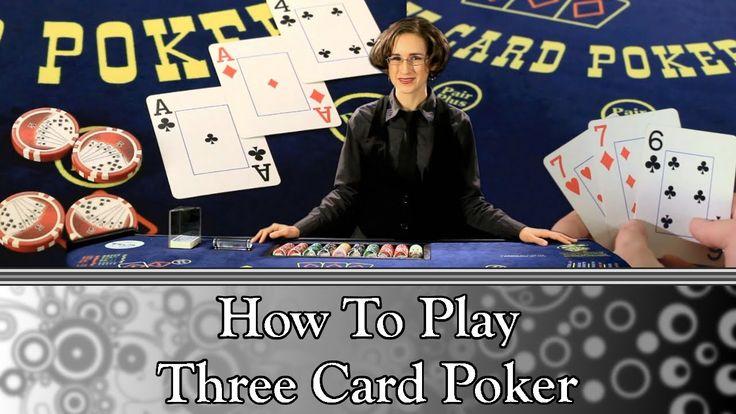 How to play three card poker full video poker poker