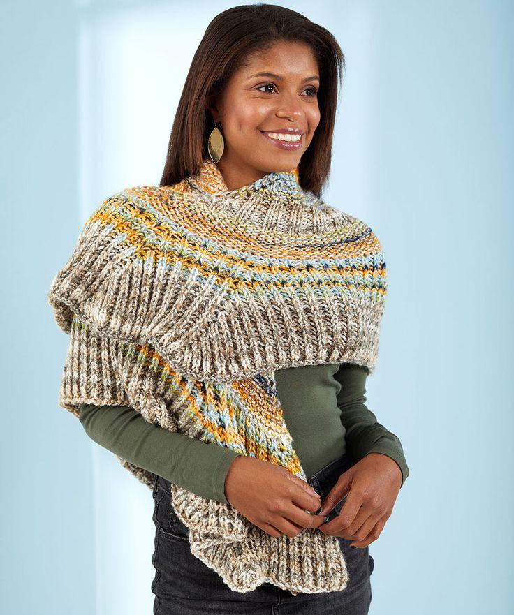 Free Knitting Pattern for a Beautiful Brioche Shawl