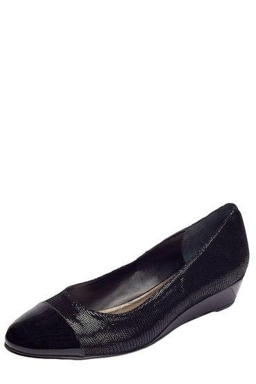 Buy Easy Steps Toe Cap Wedge Pump with Contrast Material - Ritz | Shop Shoes Womenswear at the BrandStore EziBuy NZ