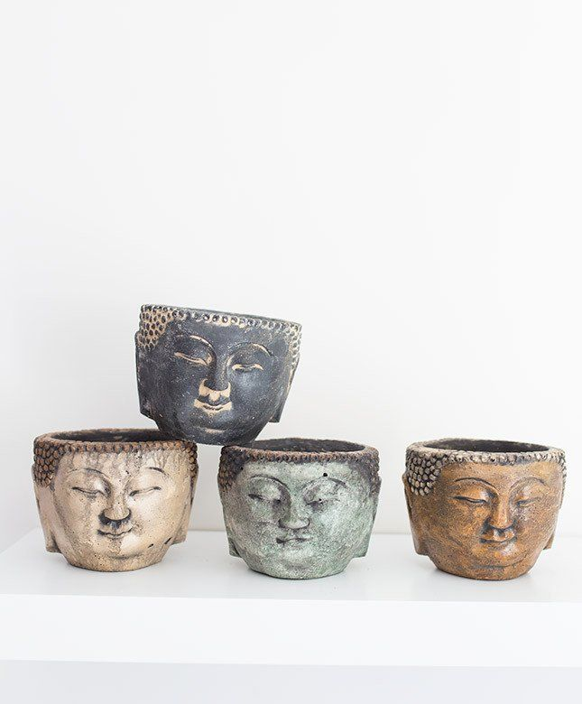 adorable buddha head plant holders.Click the link now to find the center in you with our amazing selections of items ranging from yoga apparel to meditation space decor!