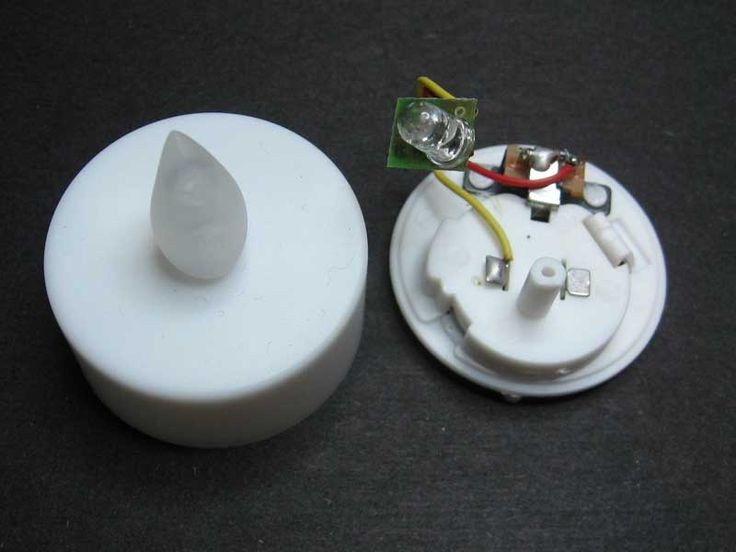 JRM: Flickering LEDs - Make a flickering fireplace with Dollar Store lights