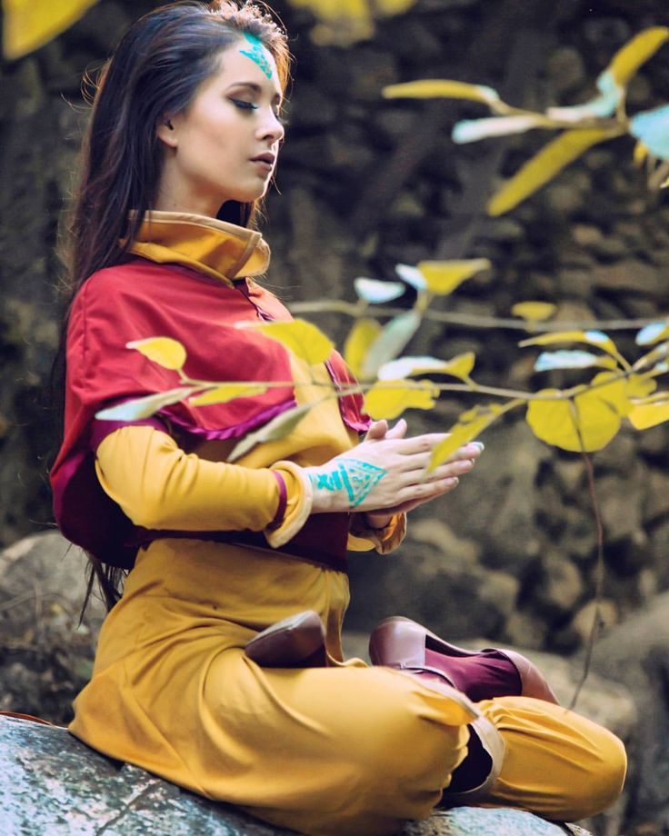 """The true heart can touch the poison of hatred without being harmed."" Avatar Aang #TheLastAirbender #cosplay by Hendo Art (: @nerdypictures)"
