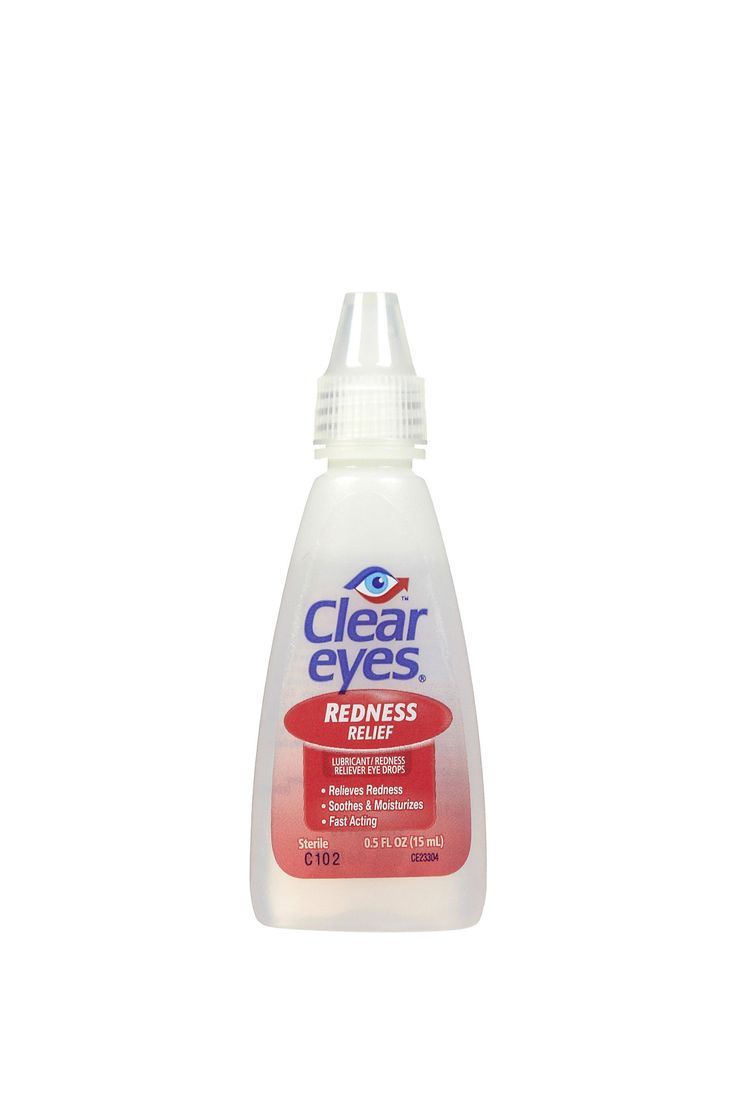The first step to battling dry, red, irritated, or itchy eyes should always be over-the-counter eye drops. Keep a tiny bottle in your purse. Clear Eyes Redness Relief Eye Drops, $9.07; soap.com.   - MarieClaire.com