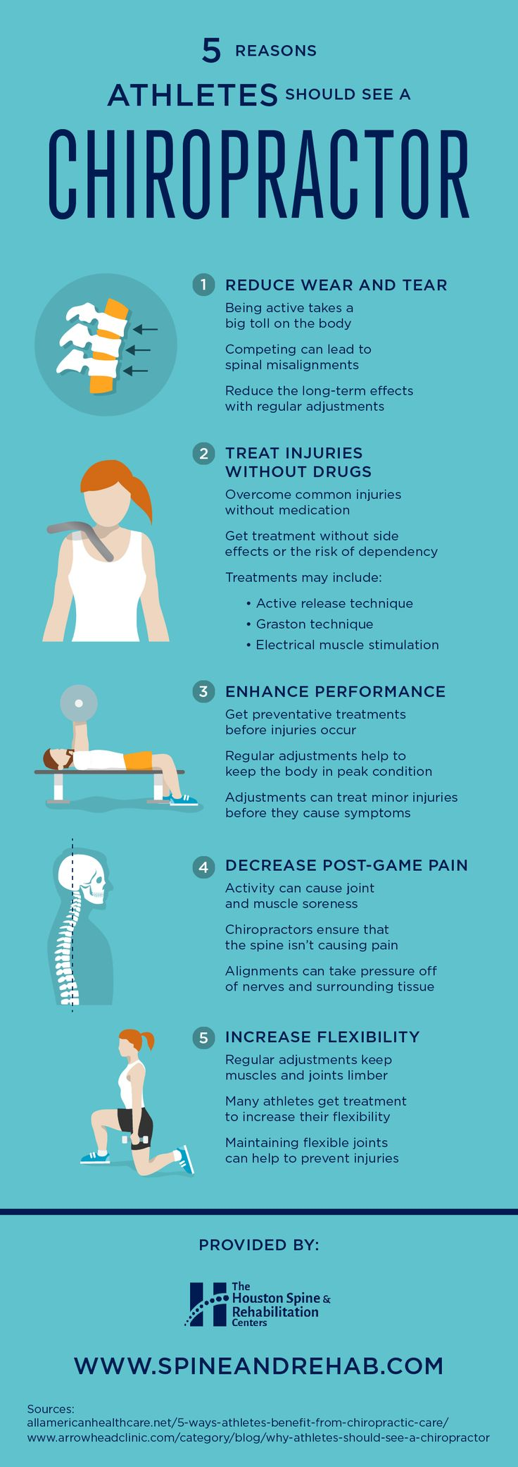 Drugs can be effective for treating injuries, but they might not be the ideal treatment plan for you! See this infographic to find out why athletes should see a chiropractor.
