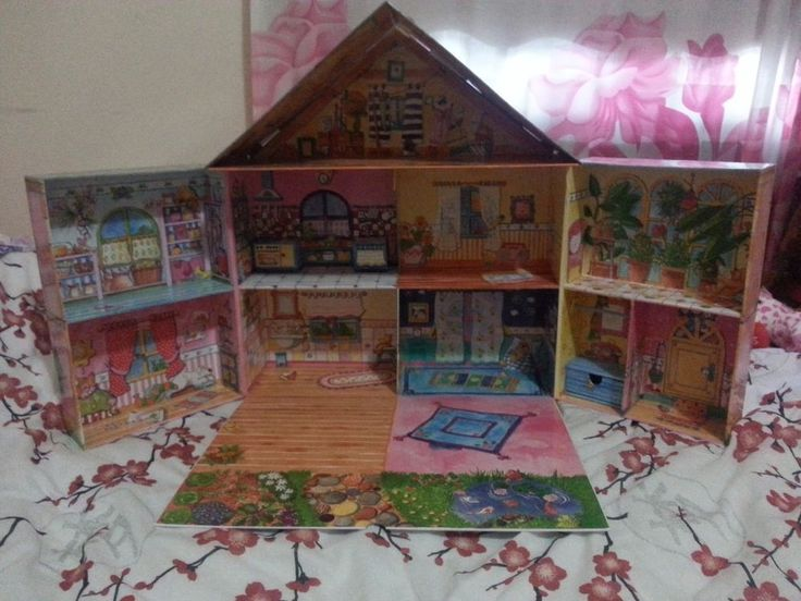 Baby Born Miniworld House - Zapf Creation - Doll House - Folds out to 8 rooms #ZapfCreation