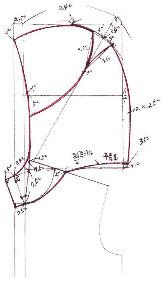 Create a hood pattern: Naver Blog