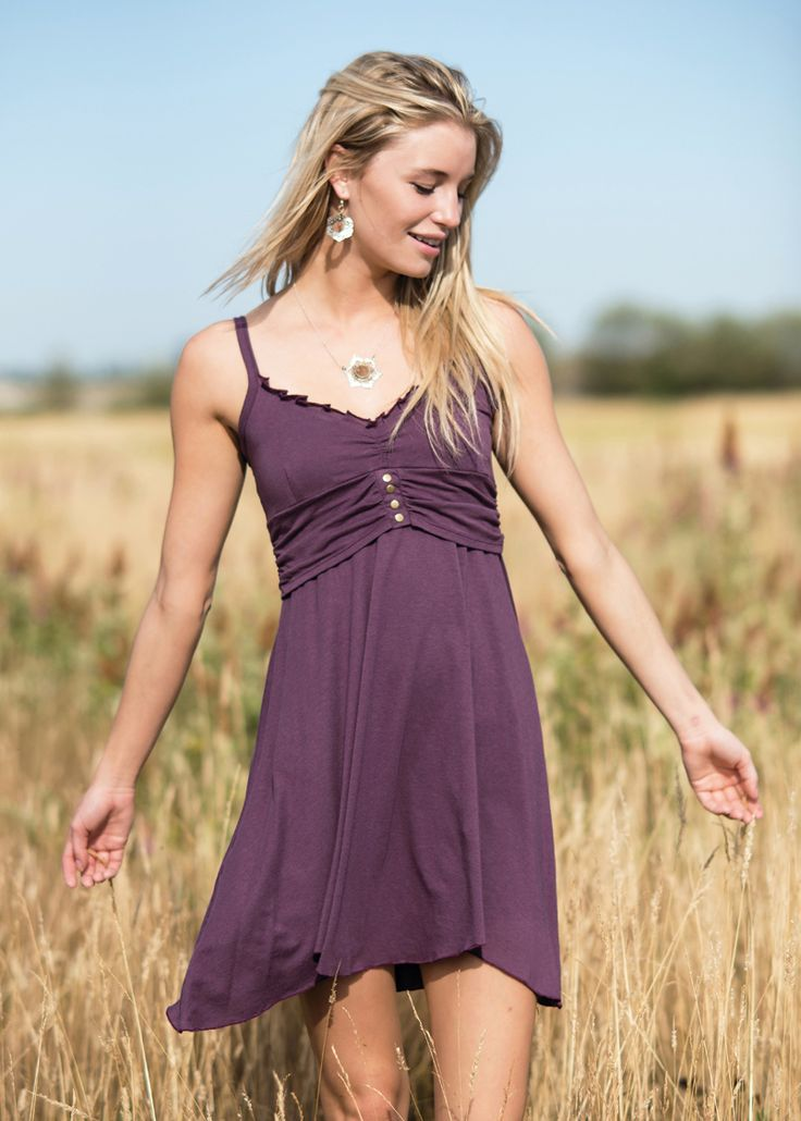 Swing so cool and sway so gently on the planet in dresses made from the finest sustainable fabrics Gaia has to offer. Organic cotton mixed with form-fitting hemp, and bamboo in styles that can be worn from the festival to the samba dance floor.