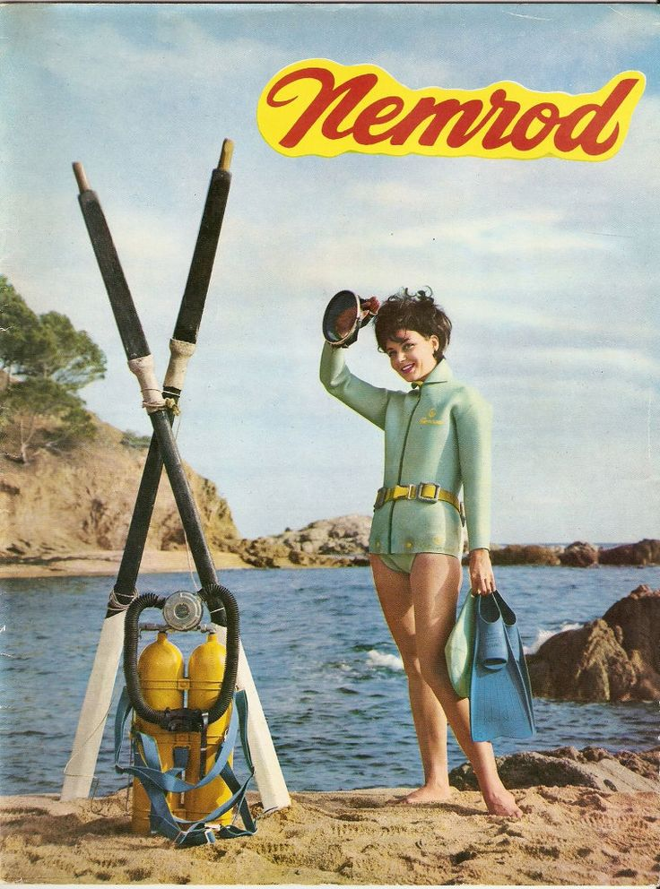1000+ images about Scuba vintage is sexy on Pinterest