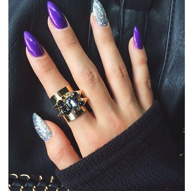 Creative Stiletto Nail Designs Nail Design, Nail Art, Nail Salon, Irvine,  Newport - Best 20+ Purple Stiletto Nails Ideas On Pinterest Acrylic Nails