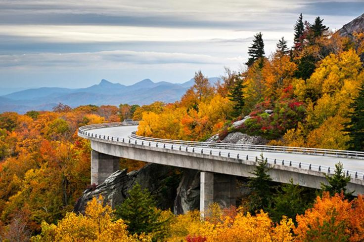 Road Trip: Blue Ridge Parkway, Virginia and North Carolina (Article: Forbes top 10 US road trips)
