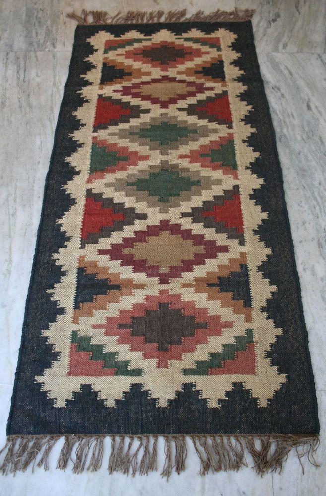Vintage Turkish Kilim Rug, Antique Wool Jute Rug, Kilim runner,Kilim carpet SALE #Turkish